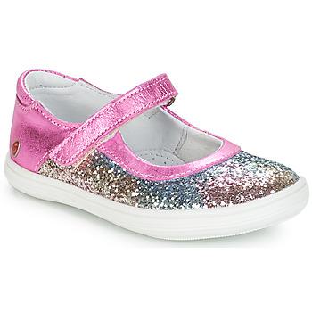 Scarpe Bambina Ballerine GBB PLACIDA Rosa / Multico