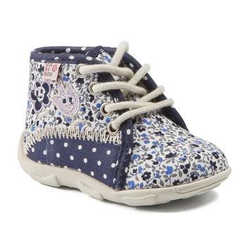 Scarpe Bambina Pantofole GBB PAT Marine -fiori