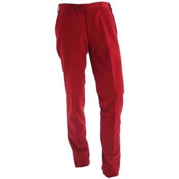 Abbigliamento Uomo Chino Rota PANTALONE  ROSSO IN COTONE STRETCH Red