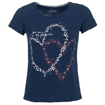 Abbigliamento Donna T-shirt maniche corte Esprit WEJA Marine