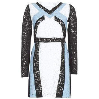 Abbigliamento Donna Abiti corti Morgan RLIXI Bianco / Nero / Blu