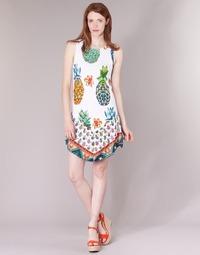 Abbigliamento Donna Abiti corti Desigual HOQLER Bianco