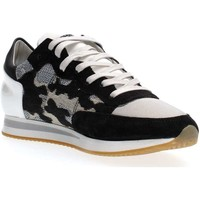 Scarpe Donna Sneakers basse Philippe Model Paris TRLD CI01 TROPEZ SNEAKERS Donna WHITE BLACK WHITE BLACK