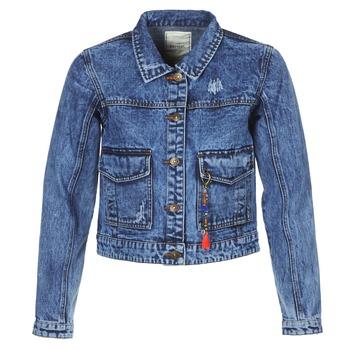 Abbigliamento Donna Giacche in jeans Kaporal BUCHE Blu