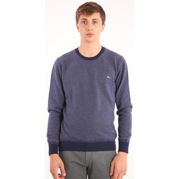 Abbigliamento Uomo Maglioni Etro MAGLIONE BLU  IN LANA LAMBSWOOL Blue