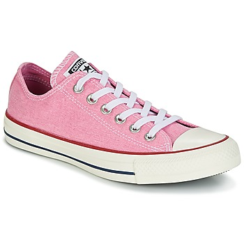Scarpe Donna Sneakers basse Converse Chuck Taylor All Star Ox Stone Wash Rosa