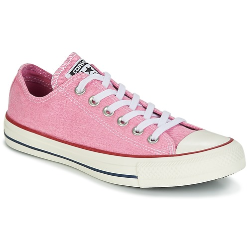 Converse Chuck Taylor All Star Ox Stone Wash Rosa  Scarpe Sneakers basse Donna 56