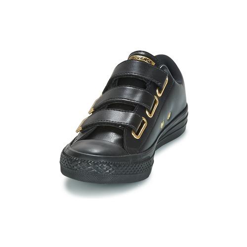 Converse Chuck Taylor All Star 3V Hardware Ox SL + Hardware 3V Nero / Dore  Scarpe Sneakers basse Donna 68 18fab0