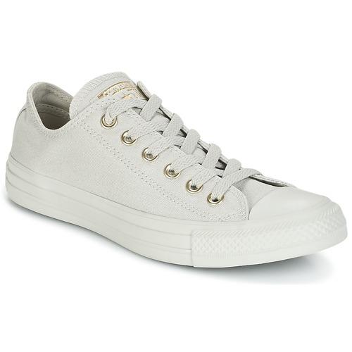 Converse Chuck Taylor All Star Mono GLAM Ox Scarpe Sneaker Grigio