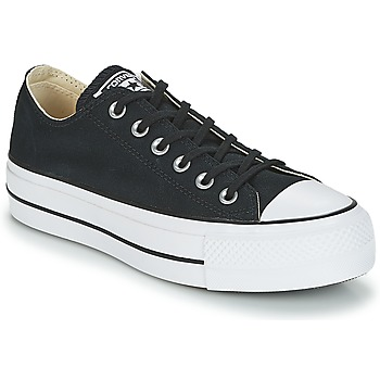 27da2e1979626 Scarpe Donna Sneakers basse Converse Chuck Taylor All Star Lift Clean Ox  Core Canvas Nero
