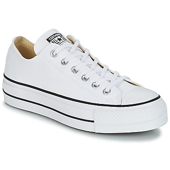Scarpe Donna Sneakers basse Converse Chuck Taylor All Star Lift Clean Ox  Core Canvas Bianco 2d85071e457