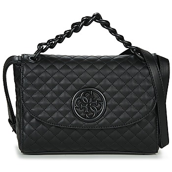 Borse Donna Tracolle Guess G LUX CROSSBODY FLAP Nero