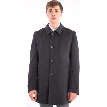 Abbigliamento Uomo Cappotti Schneiders CAPPOTTO  IN LANA NERO Black