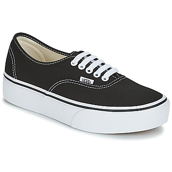 Scarpe Donna Sneakers basse Vans AUTHENTIC Nero