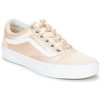 Scarpe Donna Sneakers basse Vans OLD SKOOL Rosa / Satin