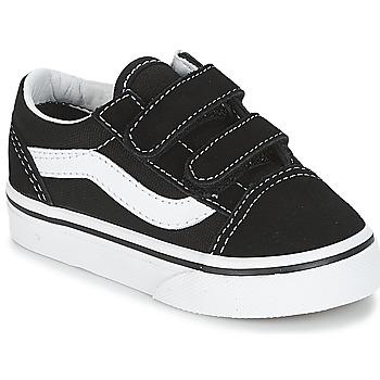 Scarpe Bambino Sneakers basse Vans OLD SKOOL V Nero