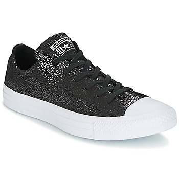 Scarpe Donna Sneakers basse Converse Chuck Taylor All Star Ox Tipped Metallic Nero