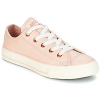 Scarpe Bambina Sneakers basse Converse Chuck Taylor All Star Ox Fashion Leather Arancio / Clair