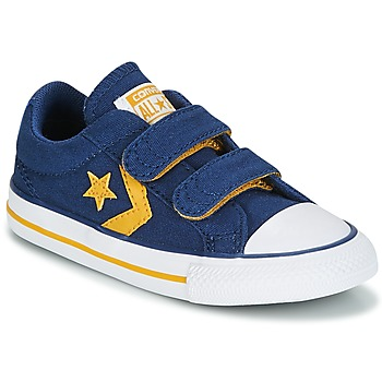 Scarpe Bambino Sneakers basse Converse Star Player EV 2V Ox Sport Canvas Blu