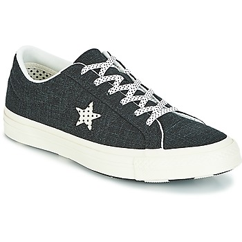 Scarpe Donna Sneakers basse Converse One Star-Ox Nero