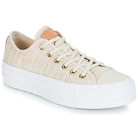 Scarpe Donna Sneakers basse Converse Chuck Taylor All Star Lift-Ox Beige / Bianco