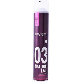 Bellezza Gel & Modellante per capelli Salerm Nature Lac Strong Hold Hairspray  650 ml