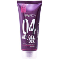 Bellezza Maschere &Balsamo Salerm Wet Gel Rock Extra-strong Wet Look Styling Gel  200 ml