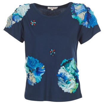 Abbigliamento Donna T-shirt maniche corte Derhy BANGKOK Marine