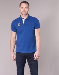 Abbigliamento Uomo Polo maniche corte Serge Blanco DOSSART 15 Blu