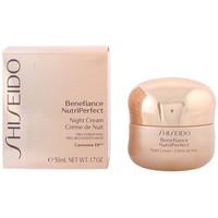 Bellezza Donna Idratanti e nutrienti Shiseido Benefiance Nutriperfect Night Cream  50 ml