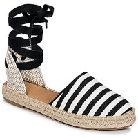 Scarpe Donna Espadrillas Betty London INANO Nero / Bianco