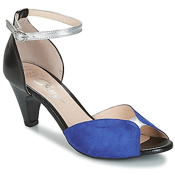 Scarpe Donna Sandali Betty London IKIBI Blu / Nero