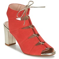 Scarpe Donna Sandali Betty London INALU Rosso