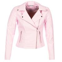 Abbigliamento Donna Giacca in cuoio / simil cuoio Noisy May NMREBEL Rosa