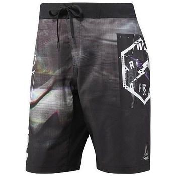 Abbigliamento Uomo Costume / Bermuda da spiaggia Reebok Sport Epic Lightweight Short Nero, Grigio