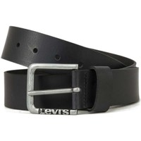 Accessori Cinture Levi's 226929 NEW LOCKWOOD CINTURE Unisex BLACK BLACK