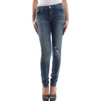 Abbigliamento Donna Jeans boyfriend Levi's 711 L.32 18881 JEANS Donna DENIM MEDIUM BLUE DENIM MEDIUM BLUE