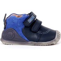 Scarpe Bambino Sneakers alte Biomecanics 13 - 161143 Scarpa Strappi Bambino Blu Blu