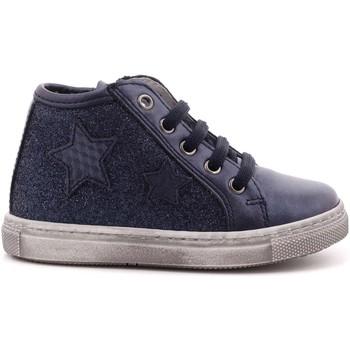 Scarpe Bambina Sneakers alte Ciao Bimbi 105 - 6065.03 Scarpa Allacciata Bambina Blu Blu