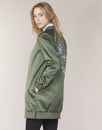 Abbigliamento Donna Giubbotti Tommy Hilfiger MABEL-LONG-BOMBER Kaki