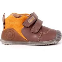 Scarpe Bambino Sneakers alte Biomecanics 12 - 161143 Scarpa Strappi Bambino Tortora Tortora
