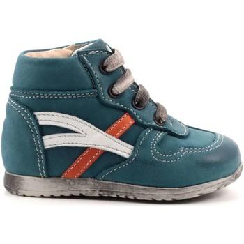 Scarpe Bambino Sneakers alte Andrea Morelli 3 - IB50130 Scarpa Allacciata Bambino Verdone Verdone