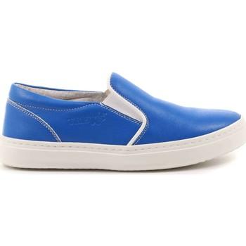 Scarpe Bambino Slip on Treks 87 - C 104 Slip On Bambino Azzurro Azzurro