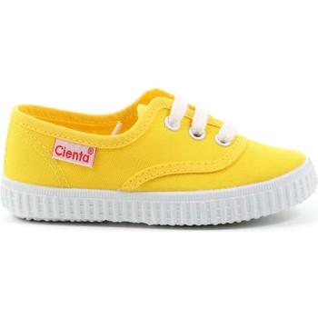 Scarpe Bambino Sneakers basse Cienta 4 - 52000 Giallo