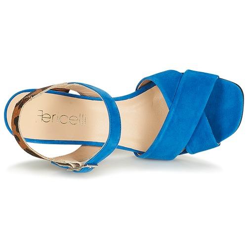 Fericelli Sandali Consegna Donna Scarpe Imolga Gratuita Blu 6000 nkwP8OX0