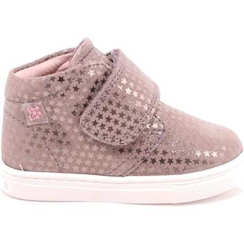 Scarpe Bambina Sneakers alte Garvalin 35 - 171330 Scarpa Strappi Bambina Taupe Taupe