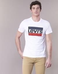 Abbigliamento Uomo T-shirt maniche corte Levi's GRAPHIC SPORTSWEAR LOGO Bianco / Blu / Rosso