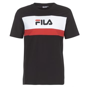 Abbigliamento Uomo T-shirt maniche corte Fila AARON TEE SS Nero