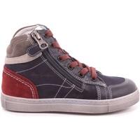Scarpe Bambino Sneakers alte Nero Giardini 325 - A734352M 201 Blu
