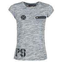 Abbigliamento Donna T-shirt maniche corte Philipp Plein Sport SITTIN OVER HERE Grigio